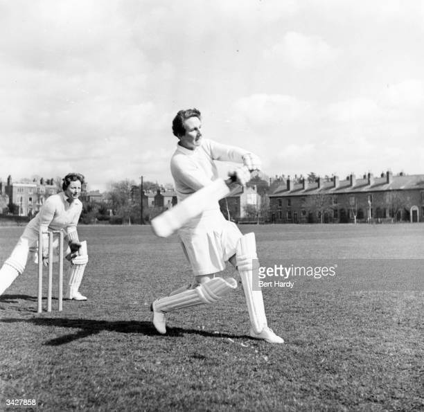 Molly Hide Captain of the English Women's Cricket team battingA spin bowler and fluent batswomanshe scored 5 centuries during an Australian tour...