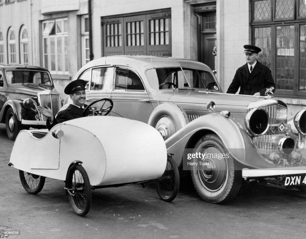 Midget Car : Fotografía de noticias
