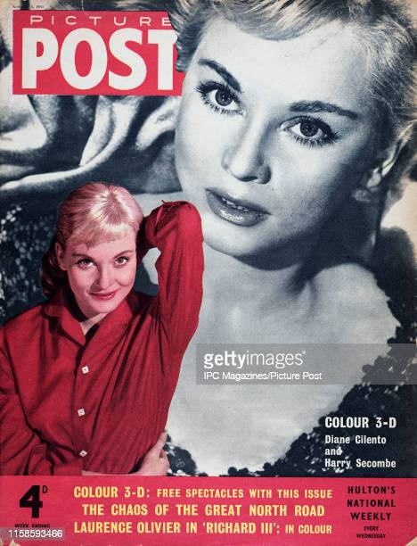 Australian actress and author Diane Cilento is featured for the cover of Picture Post magazine Original Publication Picture Post Cover Vol 69 No 06...