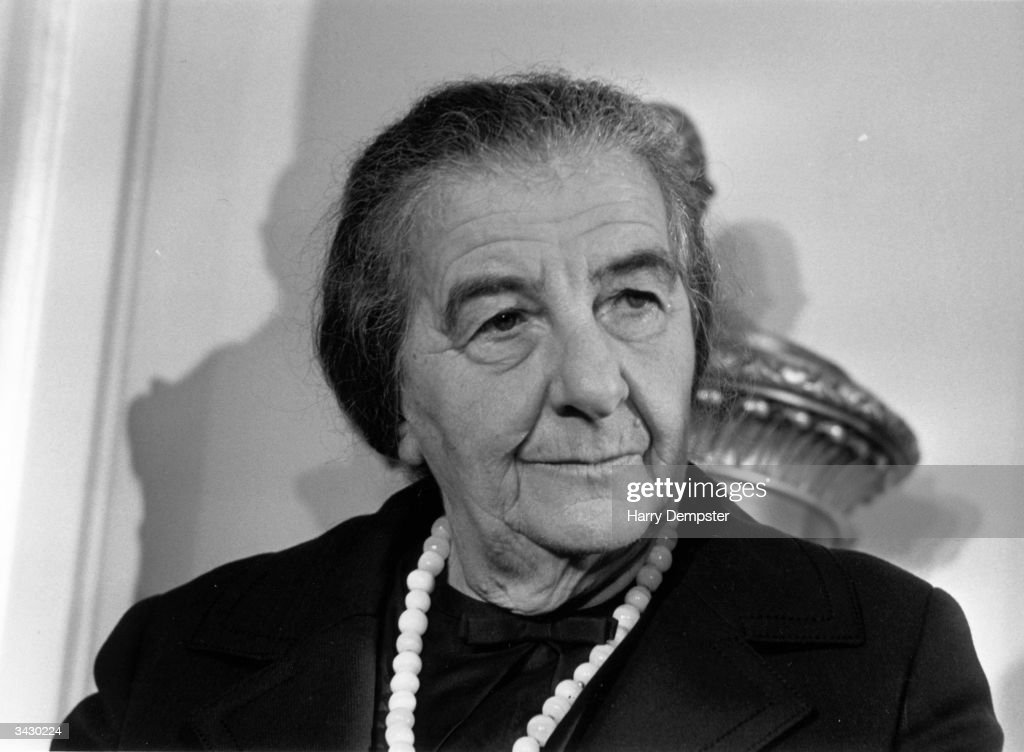 Golda Meir : News Photo