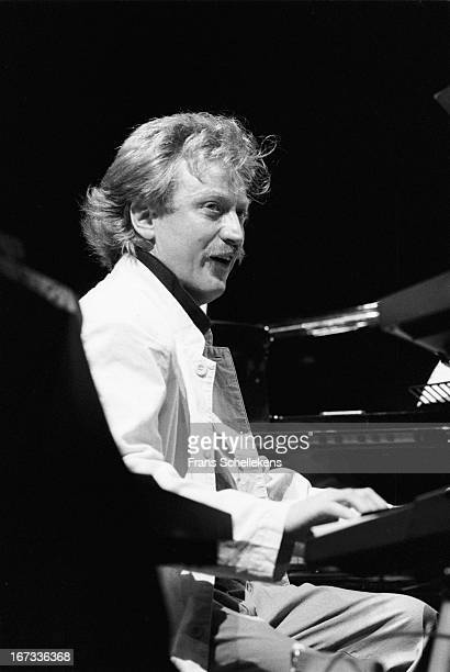 5th NOVEMBER: Dutch jazz pianist Jasper van 't Hof performs at Vredenburg in Utrecht, Netherlands on 5th November1987.