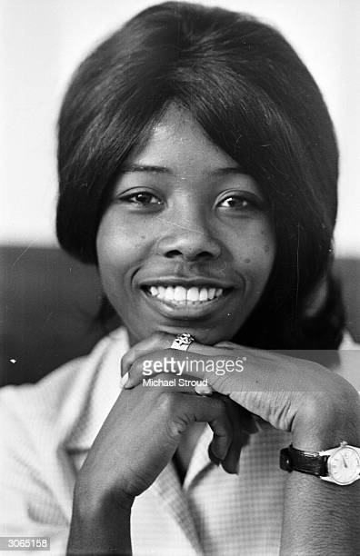 Jamaican pop singer Millicent Small who soared into the top twenty with her record 'My Boy Lollipop' at the age of 16
