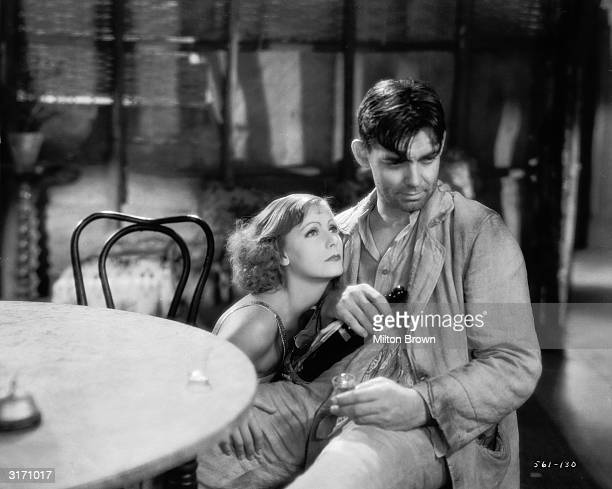 Clark Gable and Greta Garbo in a scene from 'Susan Lenox Her Fall And Rise' directed by Robert Z Leonard