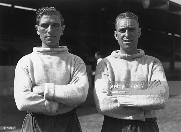 Two Queens Park Rangers FC goalkeepers R Allen and R Saphin