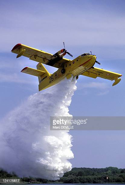5th World gathering of seaplanes In Biscarosse France On May 27 1995 Canadair