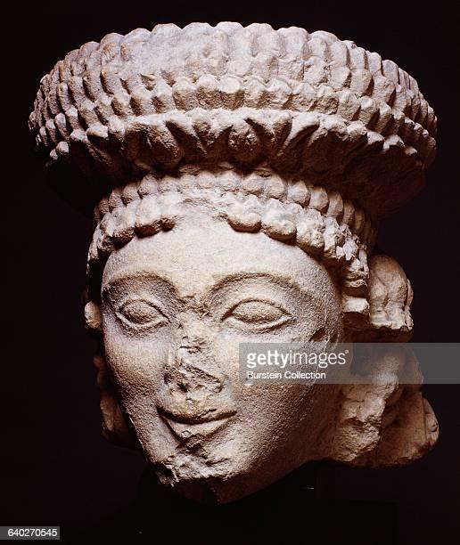 5th-6th century B.C. Limestone. Cleveland Museum of Art, Cleveland, Ohio.