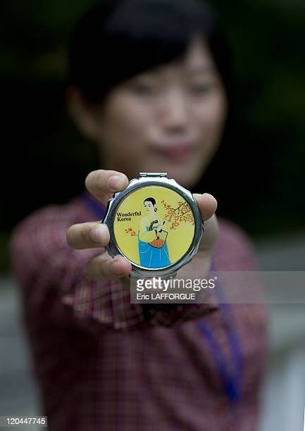 60th Anniversary of North Korea in Pyongyang North Korea on September 17 2008 China has stared to sell any kind of things to DPRK In the streets of...