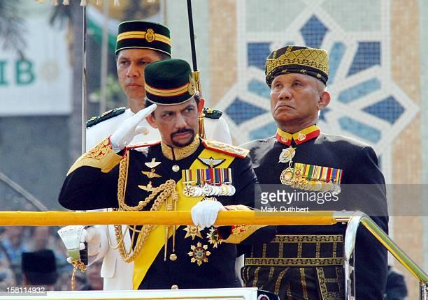 60Th Birthday Parade For The Sultan Of Brunei, Hassanal Bolkiah. .