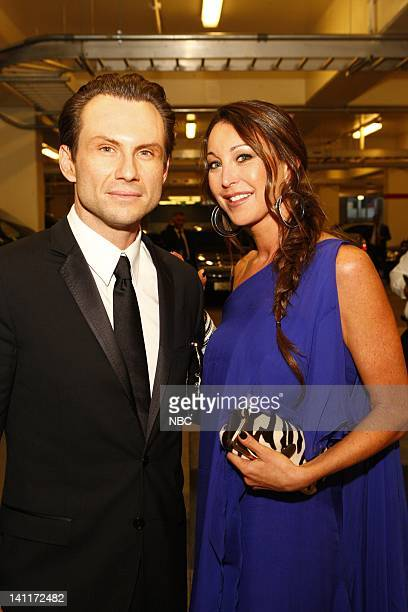 Actor Christian Slater with guest Tamara Mellon at the 60th Annual Primetime Emmy Awards Photo by Trae Patton/NBCU Photo Bank