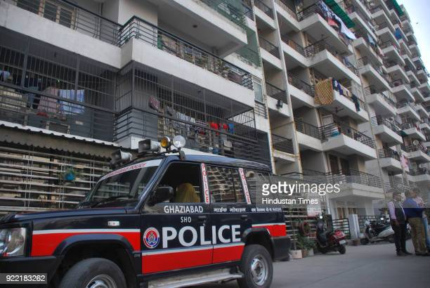 A 60yearold man walked to police and told them that his wife committed suicide by hanging herself after killing their pet dog at their tenth floor...