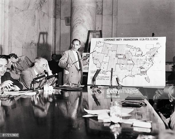 6/10/1954Washington DC Angriest clash of the 30dayslong McCarthyArmy hearing came June 9th when Army counsel Joseph N Welch denounced Sen Joseph...