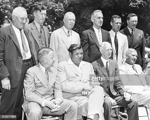 6/12/1939Cooperstown NY Pictured at the celebration of the hundredth birthday of baseball here June 12th are some of those old timers who made the...