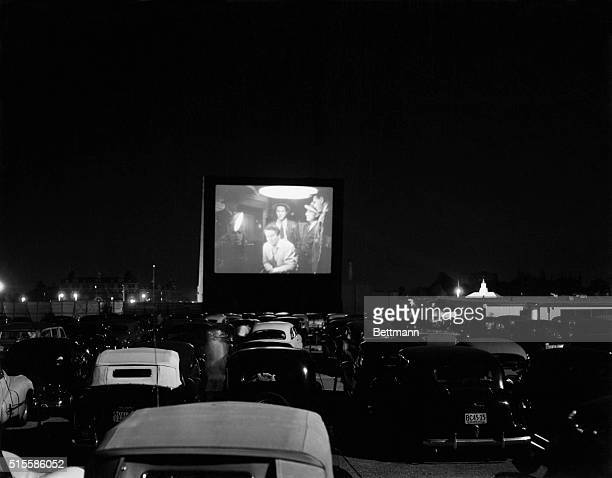 A general view of the Whitestone Bridge DriveIn Movie Theater The theater one of two in the Greater New York area sprawls over 22 acres accomodating...