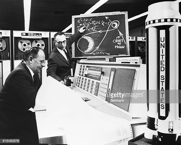 6/15/1960Huntsville ALA space computer fired a 'paper rocket' around the moon today to begin its job of saving millions of space dollars and hundreds...