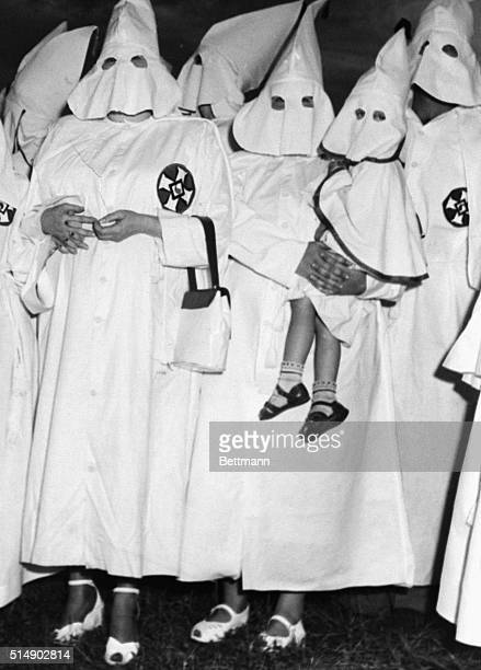 These women were participants in the show put on by the Ku Klux Klan at the recent mass initiation ceremony and crossburning on stone Mountain One...