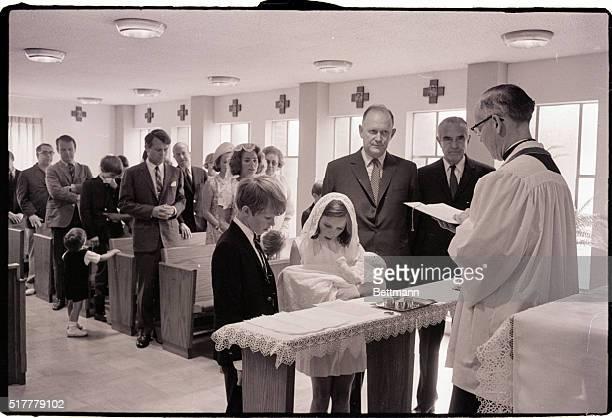 6/18/1967McClean VA Senator Robert F Kennedy's tenth child was baptized in the Saint Luke Convent He was named Douglas Harriman Kennedy after C...