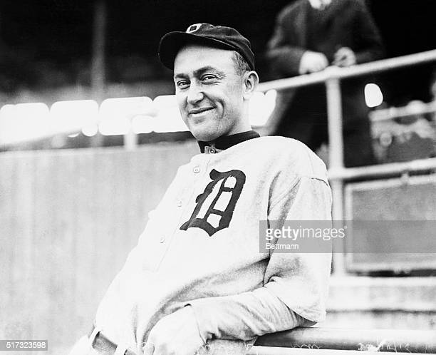 6/1915Ty Cobb The Georgia Peach born Dec 18 died July 17 1961 Manager 192126 Hall of Fame 1936 Photograph JUNE
