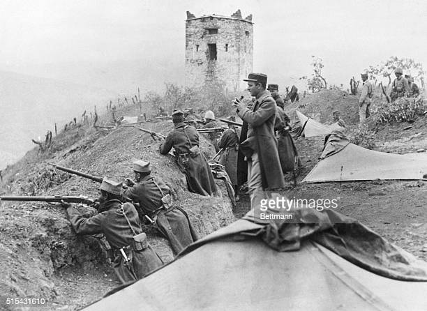 6/19/1925Algeria Photo shows Foreign Legioniers in action during the height of the effort to capture the hill of Astor a flank movement to protect...