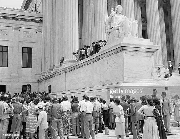 6/19/1953Washington DC The Supreme Court today cancelled the stay of execution which was granted to Julius and Ethel Rosenberg by Justice Douglas on...