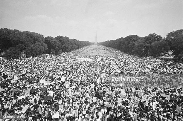 6/19/1968Washington DC This photo made from the Lincoln Memorial shows the huge crowd estimated at close to 59 that attended the Poor People's...