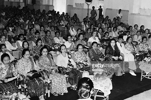 6/1953Jakarta Indonesia A meeting was organized at the Presidential Palace on the occasion of the commemoration of Kartini Day Mrs Kartini was the...