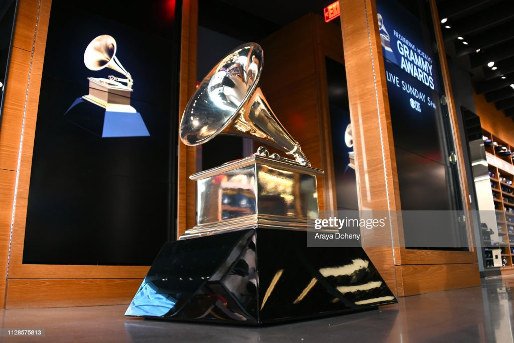 CA: 61st Annual GRAMMY Awards - New Era - Grammy Pop Up Event