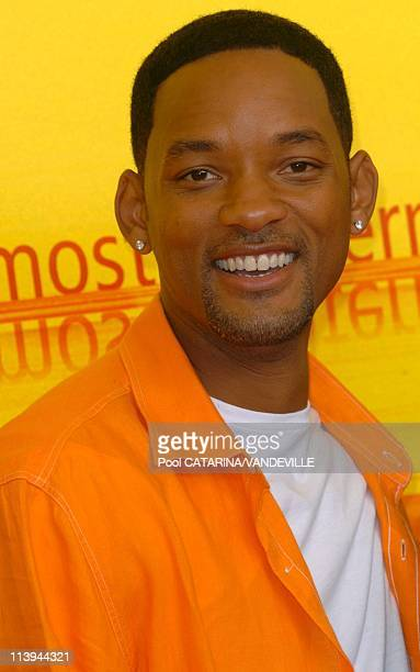 61st Venice Film Festival Arrivals and Photo call of Shark Tale In Venice Italy On September 10 2004Actor Will Smith