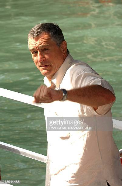 61st Venice Film Festival Arrivals and Photo call of Shark Tale In Venice Italy On September 10 2004Robert de Niro