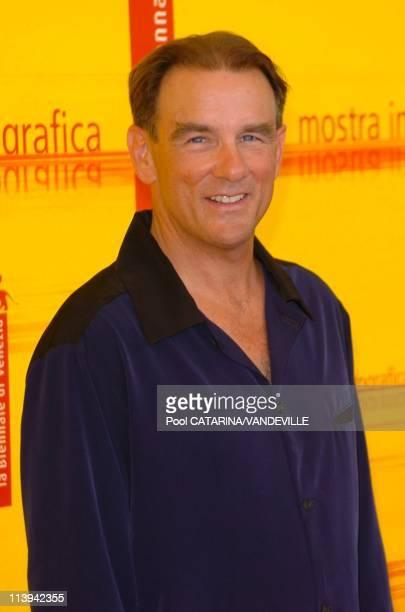 """61st Venice Film Festival. Photo call of """"Land of Plenty"""" In Venice, Italy On September 09, 2004-John Diehl."""