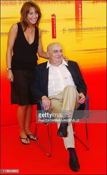 61st Venice Film Festival Presentation of the french film 'La Demoiselle d'honneur' by director Claude Chabrol with actress Laura Smet In Venice...