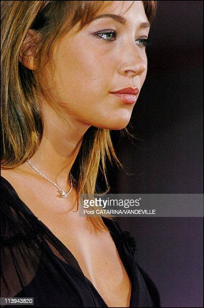 61st Venice Film Festival Presentation of the french film 'La Demoiselle d'honneur' by director Claude Chabrol with actress Laura Smet daughter of...