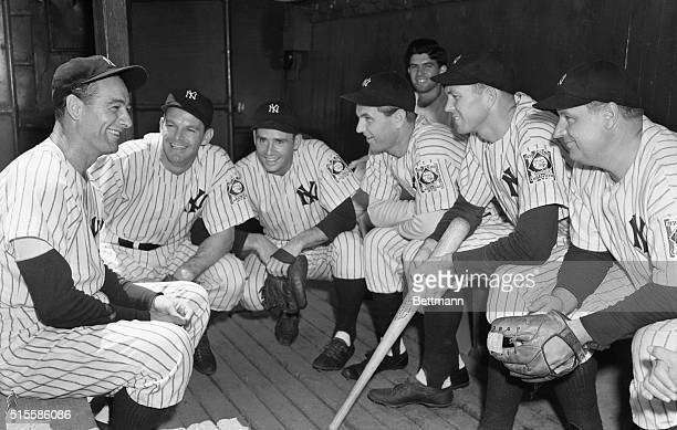 6/21/1939New York NY Lou Gehrig 'Iron Horse' first baseman of the New York Yankees who has been ruled off the diamond by physicians of the Mayo...