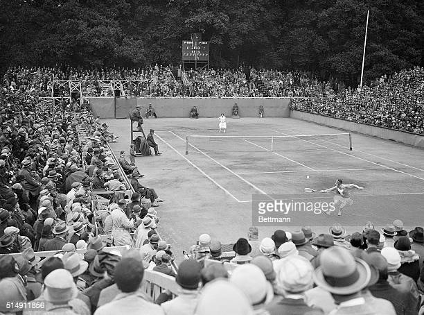 6/23/1926Wimbledon England At Wimbledon England June 22 Vincent Richards of America was eliminated in the lawn tournament by Henri Cochet of France...