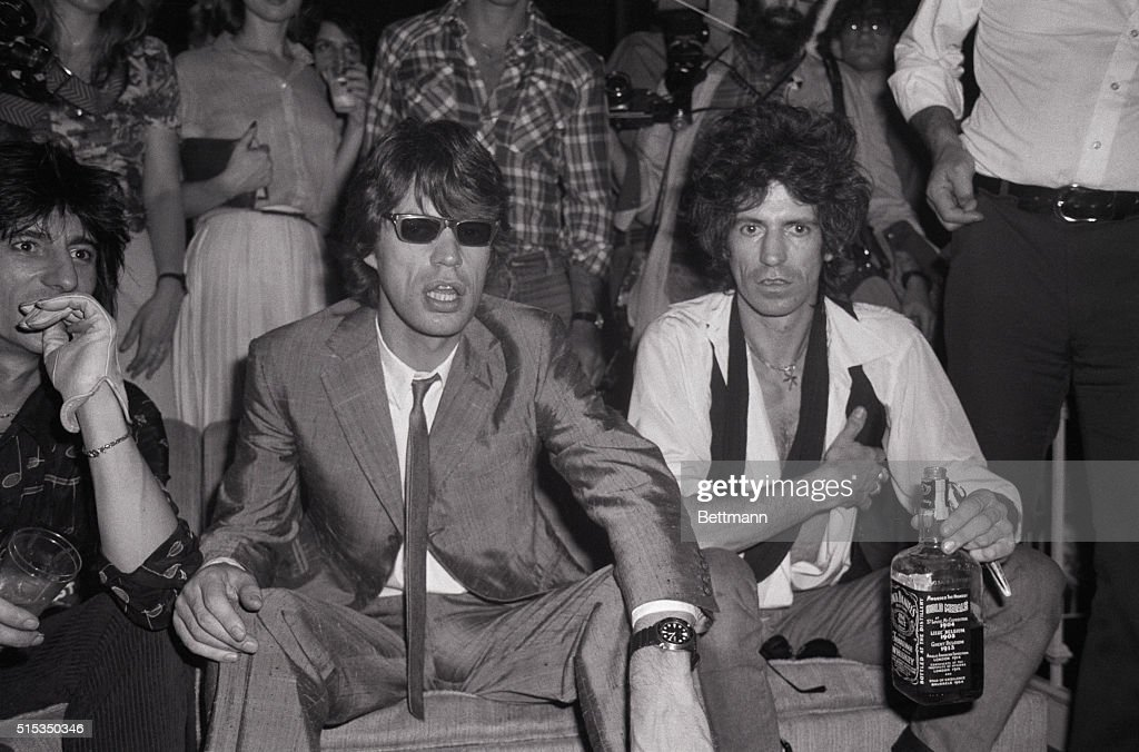 New York Ny Mick Jagger And Keith Richards Of The