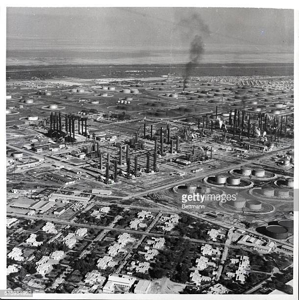 6/29/1951Abadan Iran These are the living quarters for the employees of the AngloIranian Oil Company at Abadan In the background can be seen part of...
