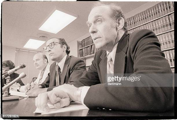 6/29/1973Washington DC Special Watergate prosecuter Archibald Cox relieved from duty from the three man team of Federal Attorneys who have handled...