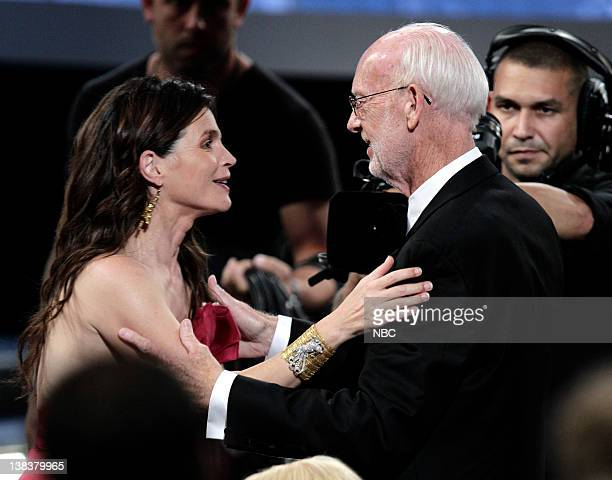THE 62nd PRIMETIME EMMY AWARDS Pictured Julia Ormand Mick Jackson Temple Grandin during The 62nd Primetime Emmy Awards held at the Nokia Theatre LA...