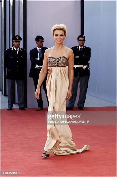 63rd Venice Film Festival Premiere of the film 'Quelques jours en septembre' by director Santiago Amigorena with Juliette Binoche In Venice Italy On...