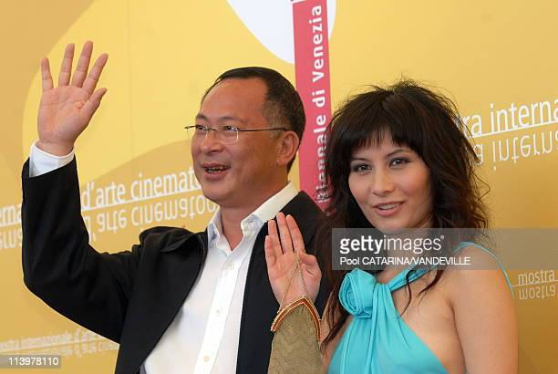 63rd Venice Film FestivalPhotocall of the chinese film 'Exiled' by director Johnnie To In Venice Italy On September 06 2006Photocall of the chinese...