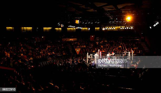 64kgs A general view of the arena as Jamie Cox beats Eddie Corcoran during the 117th Amateur Boxing Association Senior National Championships at the...