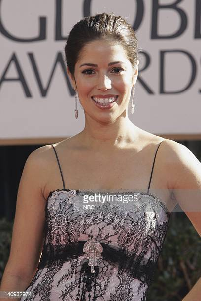 64th ANNUAL GOLDEN GLOBE AWARDS Pictured Anna Ortiz arrives at the 64th Annual Golden Globe Awards held at the Beverly Hilton Hotel on January 15...