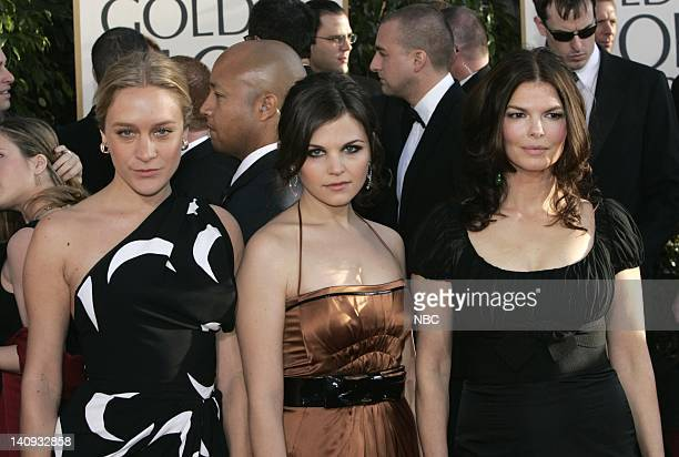 64th ANNUAL GOLDEN GLOBE AWARDS Pictured Cast of Big Love Chloe Sevigny Ginnifer Goodwin Jeanne Tripplehorn arrive at the 64th Annual Golden Globe...