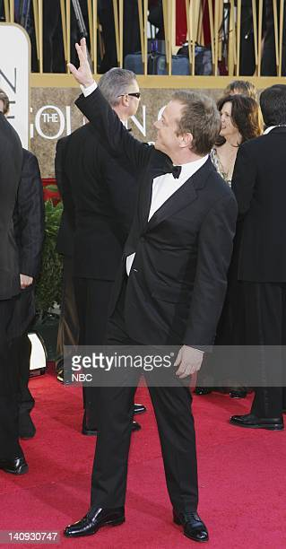 64th ANNUAL GOLDEN GLOBE AWARDS Pictured Kiefer Sutherland arrives at the 64th Annual Golden Globe Awards held at the Beverly Hilton Hotel on January...