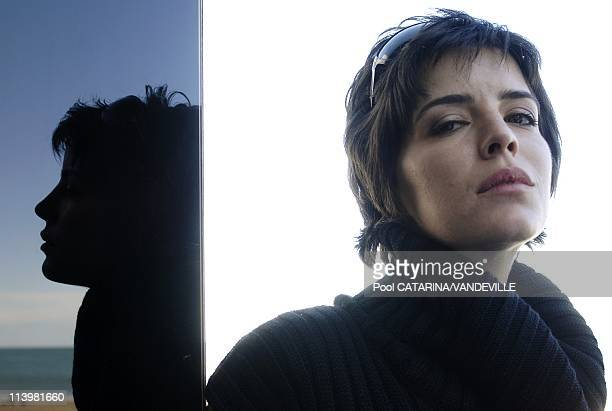 64th Venice Film Festival Close up of Portuguese actress Anabela Moreira Lucia In Venice Italy On September 05 2007