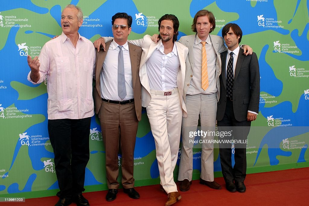 64th Venice Film Festival: Photo-call of the film 'The Darjeeling Limited and Hotel Chevalier' with Adrien Brody In Venice, Italy On September 03, 2007- : Nachrichtenfoto