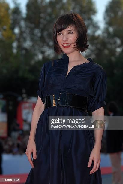64th Venice Film festival: Premiere of the film 'Cassandra's dream' In Venice, Italy On September 02, 2007-Sally Hawkins. 64th Venice Film festival:...