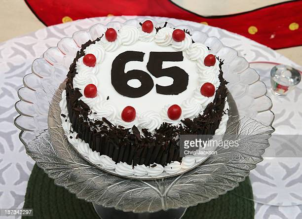 Pleasant 65Th Birthday Cake Stock Pictures Royalty Free Photos Images Funny Birthday Cards Online Elaedamsfinfo