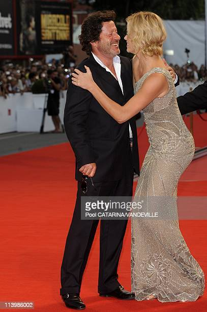 65th Venice Film Festival Premiere of the film 'The Burning Plain' In Venice Italy On August 29 2008Portugal's actor Joaquim de Almeida and actress...