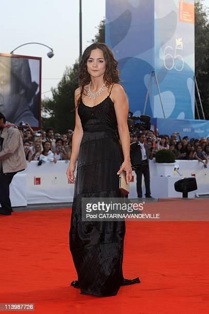 65th Venice International Film Festival Arrivals at the Closing Ceremony In Venice Italy On September 06 2008Alicia Braga