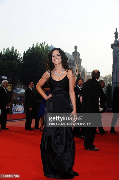 65th Venice International Film Festival Arrivals at the Closing Ceremony In Venice Italy On September 06 2008Alicia Braga